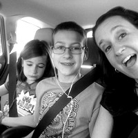 123/365. Road trip to the outlets today. I had fun sitting in the back with the kids. #m4hp365 #ciuan365