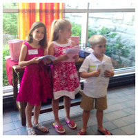 151/365. Today was JAM at church. Natalie was a greeter and then handed out goodies at the end. #m4hp365 #ciuan365