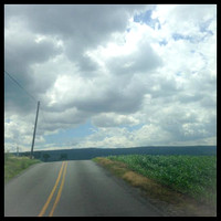 167/365. I just had to pull over to capture this beautiful scenery. #m4hp365 #ciuan365 #country #clouds
