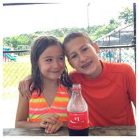 207/365. Sharing a coke with my #1s. #shareacoke #m4p365 #ciuan365
