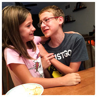 258/365. Love these two. #m4hp365 #ciuan365 #siblings