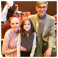 325/365. Natalie got her picture taken with Elephant & Piggie today. What a great production put on by Linganore HS. #m4hp365 #ciuan365 #linganorehighschool
