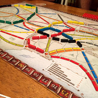 311/365. Played a fun new game tonight called Ticket to Ride. #m4hp365 #ciuan365