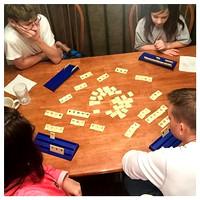 29/365. Family game night playing Rummikub. #Markel365 #familyfriends365