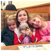 74/365. Dinner out tonight and we happen to see these adorable girls! #Markel365 #familyfriends365 by markellifeinphotos