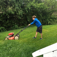 125/365. Mowing the grass. #Markel365 #familyfriends365 by markellifeinphotos
