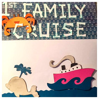 186/365. Did a little Scrapbooking today. #scrapbooking #cruise
