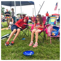 185/365. They're bored already. Let's get these fireworks started. #markel365 #familyfriends365 #independenceday #fireworks