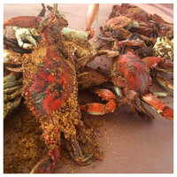 174/365. Crabs for our anniversary dinner. #crabs #familyfriends365 #Markel365