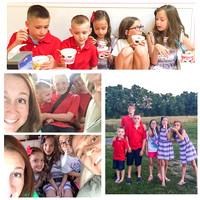 183/365. Fun night with cousins, car swappin', photos & ice cream. #familyfriends365 #markel365
