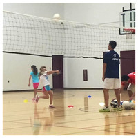 229/365. My girl is playing volleyball! #markel365 #familyfriends365 #volleyball